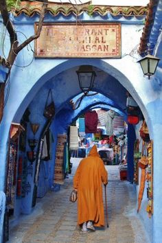 7 Travel Destinations In Morocco You Should Visit Morocco Chefchaouen, Travel Around The World, Around The Worlds, Riad, Cultural Capital, Blue City, Morocco Travel, Moroccan Style, Moroccan Decor