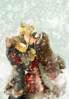 snow kiss by princeivythefirst.deviantart.com on @DeviantArt