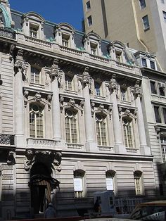 """The Sloane Mansion at 9 East 72nd Street. Until 1882 Jessie A. Robbins was not a member of the elite Fifth Avenue social clique. Instead she lived across the East River at 29 Monroe Place in Brooklyn, a member of the fashionable """"Heights Set."""" Her father, Daniel C. Robbins was a successful partner in a drug firm. Jessie would longingly read newspaper accounts of the grand balls and dinner parties hosted by Mrs. Astor or one of the Mrs. Vanderbilts."""