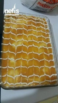 Desserts easy and fast Delicious Cake Recipes, Yummy Cakes, Yummy Food, Dessert Simple, Moroccan Desserts, Easy Desserts, Dessert Recipes, Turkish Sweets, Milk Dessert