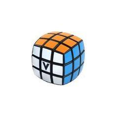 """The V-Cube 3x3 White Pillowed is the sturdiest three-layered cube available in the market. It may look and play like a Rubik's Cube, but the V-Cube's inner workings are very different, which leads to smoother turns, more stable play, and a more durable product overall. The V-Cube 3x3 White Pillowed is an """"essential"""" pillow-shaped version, derived from the original V-Cube 7, with revolutionary V-Cube mechanism and internal pieces."""