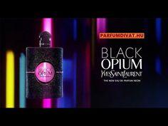 Black Opium, Yves Saint Laurent, Shops, Neon, Beauty Products, Saints, Tents, Cosmetics, Saint Laurent