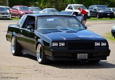 Buick Grand National - don't make em like this anymore. One of the sexiest Muscle Cars Dodge Challenger, Chevrolet Camaro, Chevy, My Dream Car, Dream Cars, Plymouth, Cadillac, Ford Mustang, Buick Grand National Gnx