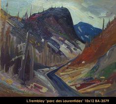 Original oil painting on canvas by Louis Tremblay Canadian Artists, Quebec, Oil Painting On Canvas, Painters, Original Paintings, Landscape, Scenery, Quebec City, Corner Landscaping