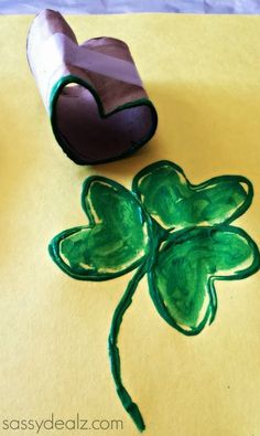 Repinned: St. Patrick's Day crafts for kids