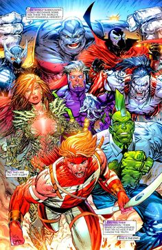 Image United by Todd McFarlane, Erik Larsen, Rob Liefeld, Marc Silvestri, and Whilce Portacio