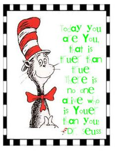 Dr. Seuss quote poster for your classroom