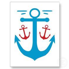 anchor postcard