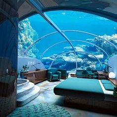 Jules Underwater Lodge, Key Largo, Florida, USA - The 15 Most Unusual Hotels in the World