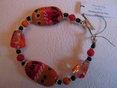 Handmade For You 7 Ladies Bracelet Orange by JewelsHandmadeForYou