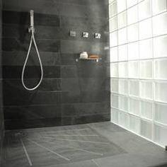douche verre
