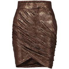 Vila Cados Skirt ($39) found on Polyvore