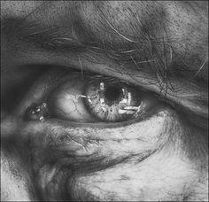 Through The Iris II (LD Butcher)    Pencil by Armin Mersmann