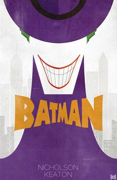 """The Joker Poster Nic Cage - Take off word """"Batman"""" and put on """"Joker"""" - use for a target for beanbags or balloons filled with watercolor at EOY party"""