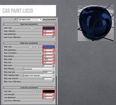 Vray Car Paint Lucid Material 3ds Max