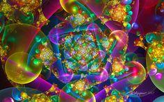 Bubbles Spiral by wolfepaw.deviantart.com on @DeviantArt