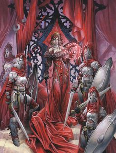 Curse of the Crimson Throne Hardcover By Wayne Reynolds