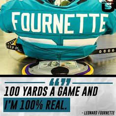 "eba473fbd94 UNISWAG on Instagram  "" leonardfournette on why he rocks a  100 bill.   uniswag"""