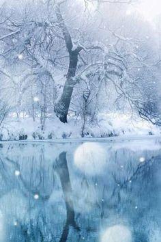 雪 綺麗 幻想的 背景 高画質の画像 プリ画像