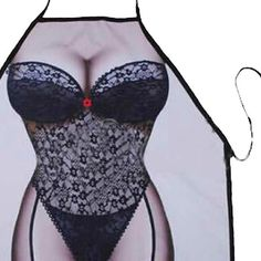 PHFU Sexy Novelty Apron Naked Woman Men Kitchen Cooking BBQ Party Bar Funny Aprons