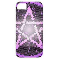 Mosaic Pentacle Pagan iphone 5 case by Cheeky Witch www.cheekywitch.com #wicca #witch #wiccan #pagan #iphone5 #iphonecases