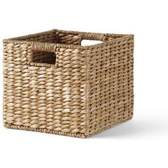 Landsu0027 End Seagrass Storage Large Basket ($30) ❤ Liked On Polyvore  Featuring Home
