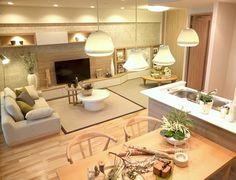 リビングルームコーディネート 日本人本来の床に暮らす空間で本当の寛ぎを。