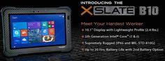 Xplore Unveils XSLATE B10 Fully Rugged Tablet | GISuser.com