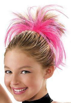 Elastic Band Hair Extensions Balera Dance Camp Wear Ballet Costumes