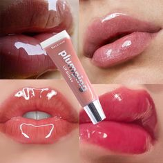 Lip Gloss - Warning Signs In Regards To A Unsanitary Salon When You Are Receiving A Manacure Glitter Lip Gloss, Clear Lip Gloss, Pink Lip Gloss, Glitter Lips, Pink Lips, Lip Gloss Tubes, Gloss Labial, Plumping Lip Gloss, Bright Summer Acrylic Nails