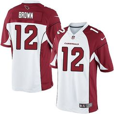 Men Nike Arizona Cardinals  12 John Brown Limited White NFL Jersey   Comfortable  Jersey bb6efd035
