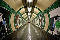 Embankment Tube by Rhiaphotos