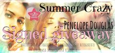 CrazyForRomance: Summer Crazy: Penelope Douglas Signed Giveaway ......