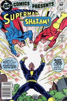 DC Comics Presents...Superman and Captain Marvel vs. Black Adam!