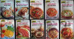 Splendid 10 Lobo Seasoning Mix Paste & Curry Paste Thai Food Made in Thailand