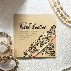 Rakhi Card with Raksha Bandhan Thread Rakhi Greeting Card Raksha Bandhan Cards, Raksha Bandhan Photos, Happy Raksha Bandhan Images, Raksha Bandhan Wishes, Diy Rakhi Cards, Rakhi Message, Rakhi Greetings, Raksha Bandhan Greetings, Handmade Rakhi Designs