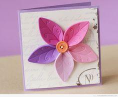 Flor de goma eva bonita y elegante para decorar un cuaderno