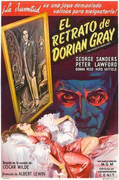 El retrato de Dorian Gray (1945) EEUU. Dir: Albert Lewin. Drama. Suspense. Fantástico. Terror. Vellez. S.XIX - DVD CINE 1313