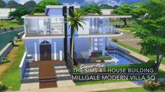 The Sims 4 - House Building - Millgale Modern Villa SQ