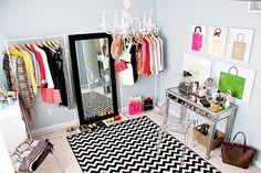 [Déco] Des idées pour emménager un dressing dans une chambre | Carnet de Shopping