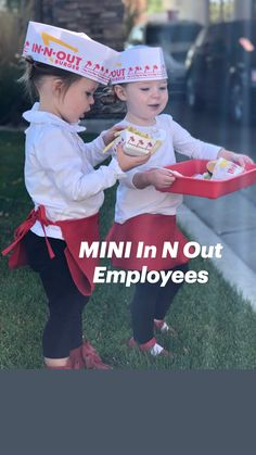 Red Apron, In & Out, Last Minute Halloween Costumes, Supply List, Costume Ideas, Cool Kids, Black Pants, Long Sleeve Shirts, Daughter