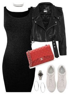 """Nada é impossível"" by hosana-tsarnaev ❤ liked on Polyvore featuring Vetements, Fendi, Chanel, Michael Kors, Rolex, Charlotte Russe, rolex and fendi"
