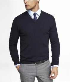 0b14d80413 Watch out 8 Extraordinary Ways to Wear a V Neck Sweater — Mens Fashion Blog  -