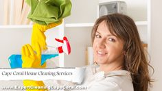As a local Cape Coral house cleaning company, we pride ourselves on the reputation that we've built up among our customers here in the Cape. We service both residential and commercial customers, and we do it with a smile on our faces at all times!