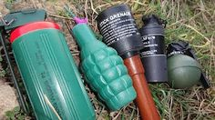 How to Make a cool and very easy Airsoft Grenade ( DIY ) - YouTube
