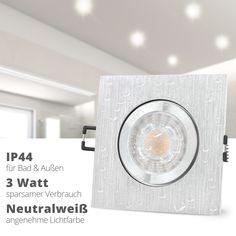 Aufbauleuchte Rund  Außen Deckenstrahler Spot Grau Dunkel GU10 IP44 Kompakt