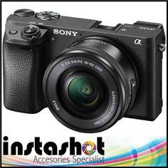 Sony Alpha A6300 Mirrorless Digital Camera with 16-50mm f/3.5-5.6 OSS Lens