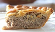 Best French Meat Pie