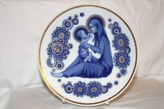 Other Modern Christmas Collectibles Santa Clara, Madonna, Christmas Plates, Modern Christmas, Spain, Child, Ebay, Decor, Boys
