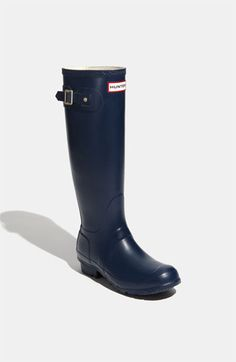 Asking for these wellies for Christmas <3 <3 <3 Hunter 'Original Tall' Rain Boot (Women) available at #Nordstrom